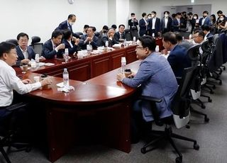 """통합당 재선모임, 민주당 상임위 독식 주장에 """"좌시 않고 투쟁"""""""