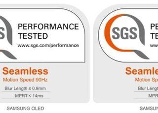 삼성 OLED, 스위스 SGS로부터 '끊김없는 DP' 인증