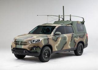 쌍용차, '렉스턴 스포츠' 차세대 국군지휘차량 내달부터 공급