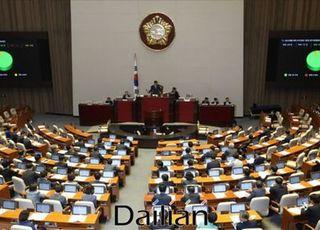 [속보] 통합당 의원들, 본회의장 입장해 '개의 강행' 항의 후 전원 퇴장