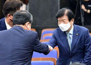 [속보] 박병석, 21대 전반기 국회의장에 선출