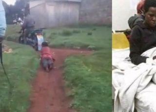 무자비한 케냐 경찰, 21세 여성 오토바이에 묶고 달렸다
