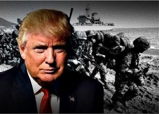 """트럼프 """"먼 나라 갈등 해결, 미군 책무 아니다"""""""