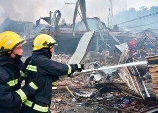 중국 저장성 탱크로리 폭발…18명 사망·166명 부상