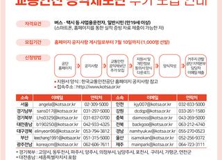국토부·경찰청, 이륜차 안전관리 강화대책 추진
