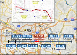 경기 북부 동서축 완성, 구미시 우회국도 연장 개통