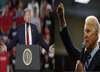 트럼프, 6개 경합주 여론조사서 민주당 바이든에 밀려