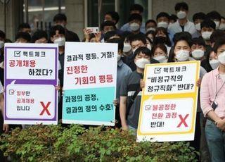 [데일리안 여론조사] '인국공 사태' 민주당 32.0%로 '휘청'…통합당과 오차범위