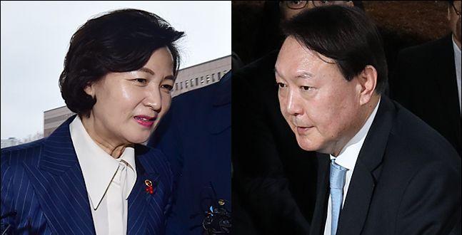'절반의 수용' 고심 중인 윤석열과 공 넘겨 받은 추미애