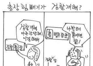 [시사만평] 허수아비 검찰총장 만들기…법무장관이 '절대권력'