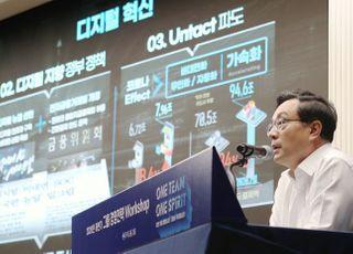 우리금융, 그룹사 전직원 디지털역량 강화…온라인 연수 실시