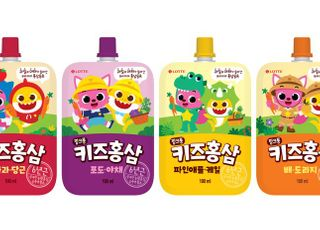 롯데칠성음료, 어린이 홍삼 음료 라인업 강화
