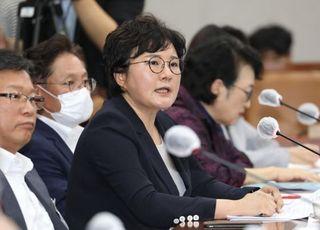 """조수진, 논란 된 민주당 법사위원 나열…김종민 """"그만하세요 좀"""""""