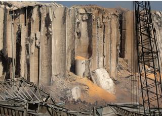 프랑스 정부, 레바논 베이루트에 장비·인력 급파