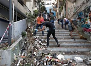 '폭발참사' 레바논 정권퇴진 시위서 유혈사태…100여명 부상