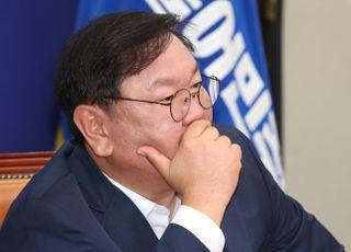 """김태년 """"수해복구에 예비비 총동원""""…4차 추경과 선긋기"""
