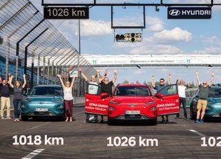 코나 일렉트릭, 한 번 충전으로 1000km 이상 달렸다
