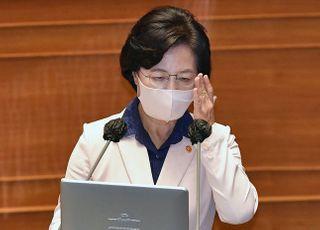 """[데일리안 여론조사] """"추미애 사퇴해야"""" 55.7%…전주보다 4.7%p 상승"""