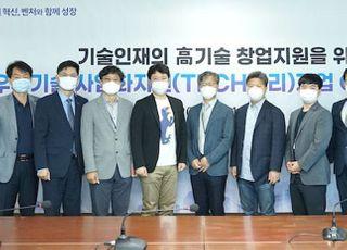 기보, '기술인재 창업 활성화' 테크밸리기업 간담회 개최