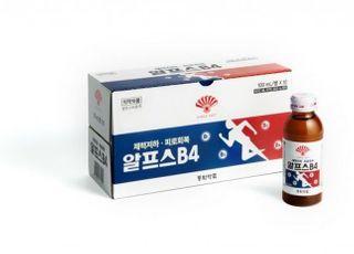 동화약품, 마시는 피로회복제 '알프스B4' 출시