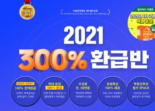 랜드프로 공인중개사, '평생/2021 300% 환급반' 모집…24일(목) 마감