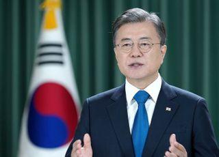 """문대통령 지지율 46.5%…""""박덕흠 의혹 영향"""""""
