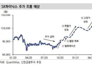 """""""SK하이닉스, 상승 사이클 시그널 발생...목표가↑""""-신한금융투자"""