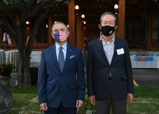 [포토] 허창수 전경련 회장, 해리 해리스 주한미국대사와 협력 논의
