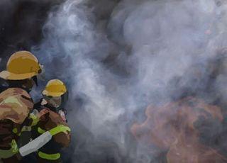 서울 프레스센터 지하서 불…수백명 대피 소동