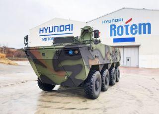 현대로템, 차륜형장갑차 3차 양산사업 수주…4077억 규모