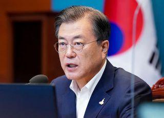 '北 피살' 이후 문대통령 부정평가 50%선 재진입