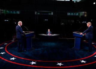 """트럼프-바이든, 첫 TV토론서 '격돌'…""""사회주의 vs 거짓말쟁이"""""""