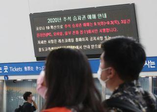 연휴 기간 열차 내 입석·음식물 섭취 '금지'