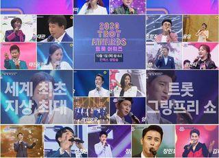 남진‧진성‧태진아‧주현미…'2020 트롯 어워즈' 라인업 '풍성'