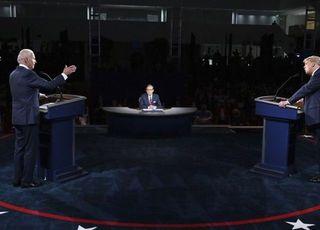 TV토론 승자는 바이든...37%로 21% 트럼프 앞서
