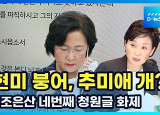 """[영상] 조은산 4번째 청원글 """"사실상 1주택"""""""