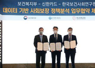 신한카드 가계소비 빅데이터, '사회보장 정책연구'에 쓰인다