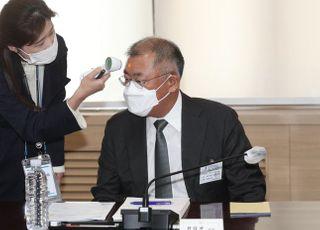 """정의선 현대차 회장, 그룹 지배구조 개편 """"고민중"""""""