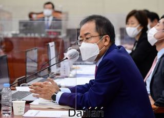 """홍준표 """"대란 일으킨 장관들, 더 뻔뻔한 윗사람 믿고 설쳐"""""""