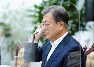 '노무현-반기문' 모델 기대…문대통령, 유명희 지원 총력전