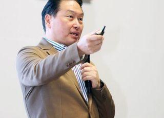 최태원 SK 회장, 제주서 'CEO 세미나'…미래전략 비전 모색