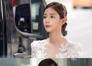 기은세 '나를 사랑한 스파이' 첫 방송 특별출연…웨딩드레스 자태 공개
