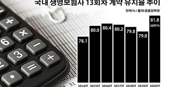 '역대 최고' 계약 유지율에도 웃지 못하는 생보사 왜