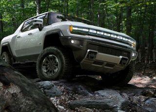 GM, 순수 전기트럭 '허머 EV' 공개…1회 충전시 563km 주행