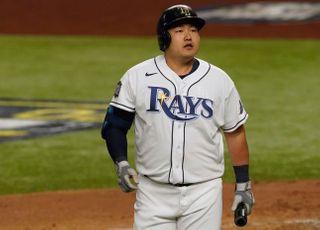 '최지만 무안타' 탬파베이, WS 3차전서 다저스에 패배