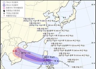 태풍 '몰라베' 필리핀 동쪽 해상서 발생…한국 영향 없을 듯