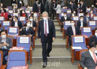 """김종인 """"정권은 유한…라임·옵티 특검 받는 게 현명한 처사일 것"""""""
