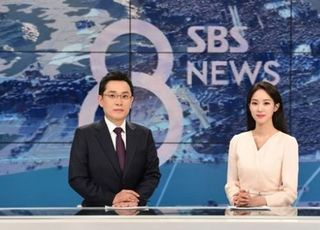 김용태 기자·주시은 아나운서, SBS 8시 주말 뉴스 새 앵커